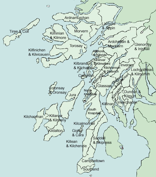 Campbeltown Scotland Map.Old Roads Of Scotland