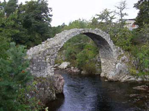The original Carr Bridge