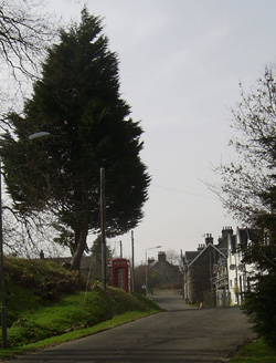 Dalmally, now bypassed by the main road