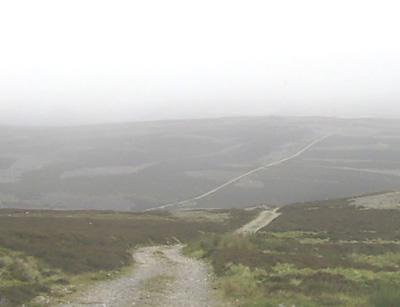 Military road south of Corgarff